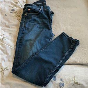 Hudson Nico Midrise Super Skinny jeans